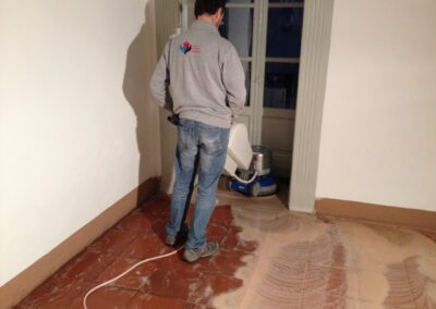 lucidatura pavimento cotto