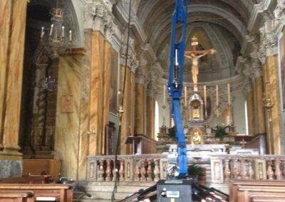 pulizia affreschi