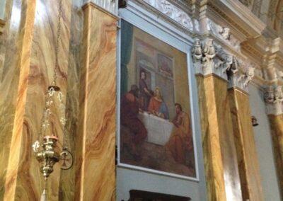 pulizie affreschi