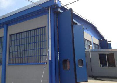 tinteggiatura capannone industriale