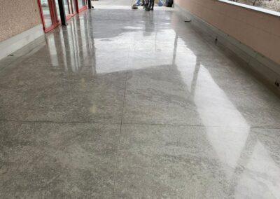 lucidatura cemento